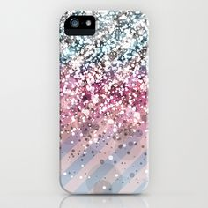 Blendeds V CL-Glitterest iPhone & iPod Case - $35.00 #iphone #samsung #case #skin #glitter #chevron #sparkle