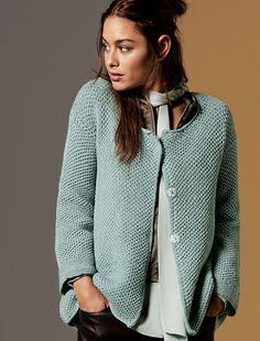 Lana Grossa JACKE Cool Wool Melange - FILATI CLASSICI No. 10 - Modell 8 | FILATI.cc WebShop