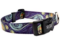 Dutch Dog Amsterdam Eco Friendly Van Gogh Dog Collar, 15 to 20-Inch, Medium >>> You can get more details by clicking on the image. (This is an affiliate link) #DogCollars