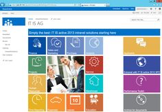sharepoint 2013 designs for intranet - Google Search