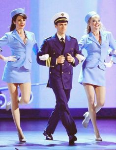 Aaron Tveit Catch Me If You Can- literally I don't understand how this man has never won a Tony award.