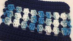 Crochet Color Scarf + Tutorial