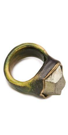 adina mills   pyrite ring