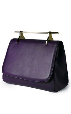Shop La Muse Venale In Violet by M2malletier for Preorder on Moda Operandi