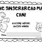 Run! Run! Run! The Gingerbread Man is ready to help your kiddos identify action verbs. {Student reproducible version}...