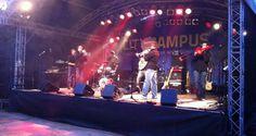 Musik beim City-Campus in der Trierer Innenstadt