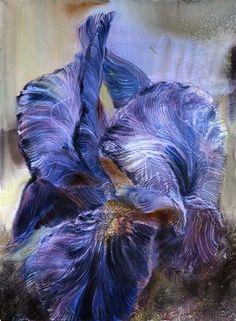 Ewa Karpinska, aquarelliste - Fleurs de la terre