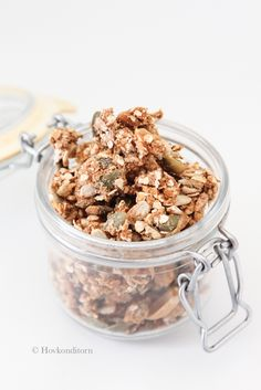 Cinnamon Cardamom Protein Granola