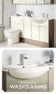 Designer ceramics from the UK's favourite bathroom brand. We offer a stylish exclusive range of sanitaryware to suit every Utopia bathroom. Fitted Bathroom Furniture, Solid Surface, Work Tops, Double Vanity, Basin, Small Bathroom, Storage Spaces, New Homes, Range