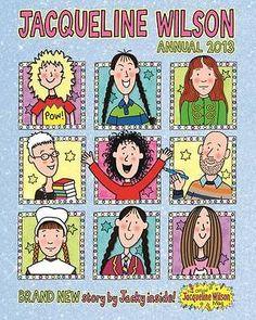 Jacqueline Wilson 2013 by D.Thomson & Co Ltd (Hardback, for sale online Gruffalo's Child, Jacqueline Wilson, Wilson Art, Jeff Kinney, Art And Craft Materials, 12th Book, Popular Girl, Craft Activities For Kids, Doll Head