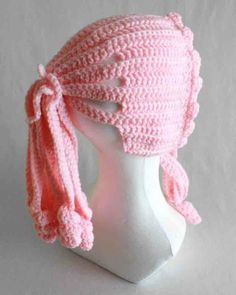 Ponytail Hat Crochet Pattern