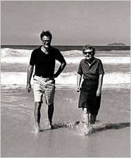 Robert Lowell and Elizabeth Bishop-- one of the great poet friendships/loves and correspondences.