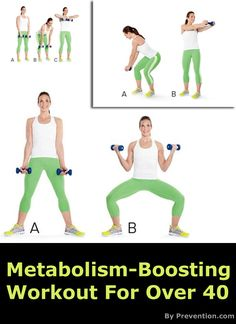 Cut your workout time in half and still see the results you want with this awesome metabolism-boosting workout! Definitely Pinning it!