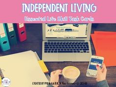 Independent Living (Essential Life Skill Task Cards) by Primarily Au-Some