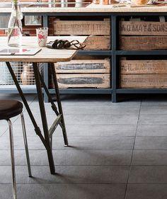 Kitchen tiles Concrete Coal
