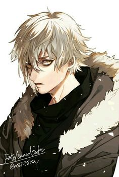 No larger size available Anime Fox Boy, Boys Anime, Hot Anime Guys, Manga Anime, Anime Oc, Character Inspiration, Character Art, Character Design, Anime White Hair Boy