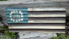 Barn Metal Sign  1776 Independence Day  by CraftyGeminiCreation