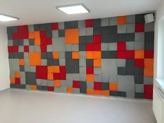 Fluffo Cube & Cubic - soft, acoustic wall panels