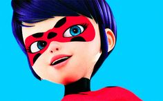 Short haired and adult Miraculous Ladybug