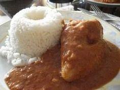 ¡¡¡MI FAVORITO!!! POLLO EN SALSA DE MANI Chicken in Peanut Sauce