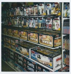 I remember these days. The Motherload of Star Wars Toys ca. 1980s.