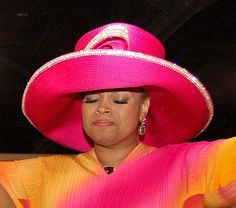 Lady Karen Clark Sheard - My hat doesn't hinder my worship, it enhances it.