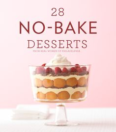 28 Showstopping No-Bake Desserts