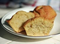 """Basic Keto Muffins - basic """"quick-bread"""" recipe with the intention of being able to easily add other ingredients such as cocoa powder, zucchini, pumpkin, carrots, blueberries, ect..OR It is also good enough to stand on it's own..."""