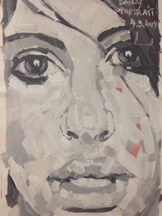 W.DECHANT - 4.9.2014 - 62 x 89 cm - acrylic / canvas - NEXT TOMORROW