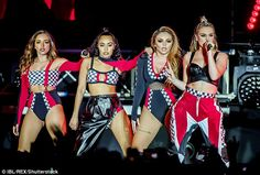 Little Mix performing at the Glory Days Tour in Stockholm (06/06/2017)