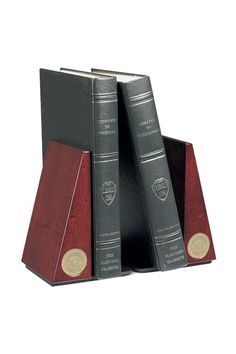 Bookends With Gold Seal (SKU 1123034241)