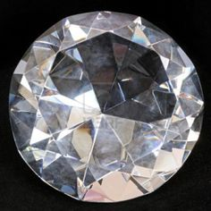 close up diamond