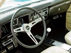 68 Chevelle SS interior - immaculate