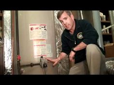 How to do home maintenance on water heater. Don't forget to include cleaning out the drain out valve on the HVAC system.