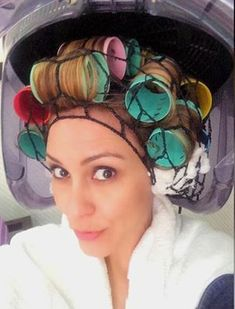 netted & in big rollers he finds his true self Sleep In Hair Rollers, Hair Curlers Rollers, Hot Rollers, Best Professional Hair Dryer, Best Affordable Hair Dryer, Roller Set, High Roller, Hair Dryer Brands, Wet Set