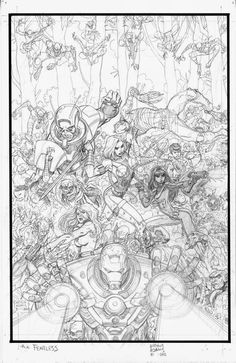 Collage1 Comic Book Artists, Comic Books Art, Comic Art, Marvel Comic Character, Character Art, Marvel Comics Art, Black White Art, Art Studies, Pencil Art