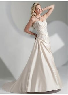 LACE BRIDESMAID PARTY BALL EVENING GOWN IVORY WHITE FORMAL TAFFETA A-LINE NECK WEDDING DRESS