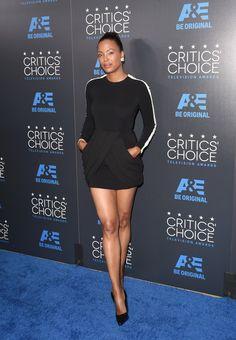 Aysha Tyler At The 2015 Critics Choice Television Awards