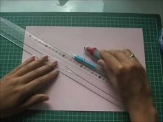 Pochette en papier / Small paper bag - YouTube