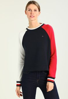 Tommy Hilfiger Sweatshirt - blue - Zalando.at