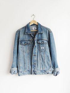 CK Denim Jacket // Vintage 1990's Jean Jacket