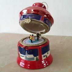 "Mr Christmas Music Box Carousel New 4 5"" High Batch 16078 | eBay"