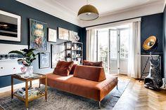 Si on ne peut à proprement pas parler d'immeuble haussmannien en Suède, le célèbre baron Haussmann s'étant contenté de sévir en France, au grand bonheur des propriétaires d'appartements aux hauts plaf