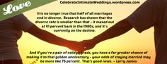 """New article, """"Have You Considered a Covenant Marriage?"""" on my Wedding Blog (designed not to sell, but to teach!). Something new about Weddings is posted every 4th day! More than 405 FREE Articles! Tell your friends by clicking """"SHARE."""" - http://celebrateintimateweddings.wordpress.com/2013/11/22/have-you-considered-a-covenant-marriage/"""