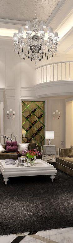 15 luxury living room designs | bocadolobo.com/ #livingroomideas #livingroomdecor