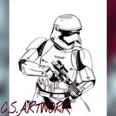 The Force Awakens Stormtrooper for Edge recording studio, check out my Instagram C.S.ARTWORK instagram.com/c.s.artwork/