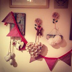 Festive bunting Bunting, Festive, Garlands, Banting