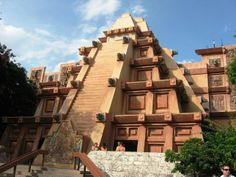 Mexico Pavilion at EPCOT. my husband bought me a beautiful silver and turquoise bracelet and necklace here.