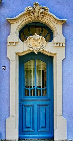 Zell am Harmersbach blue door ~ Baden-Württemberg, Germany