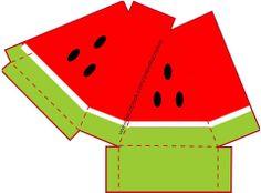 caixinha fatia melancia